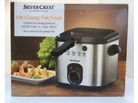 Silvercrest mini deep fat fryer