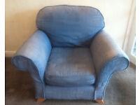 Big blue armchair - free