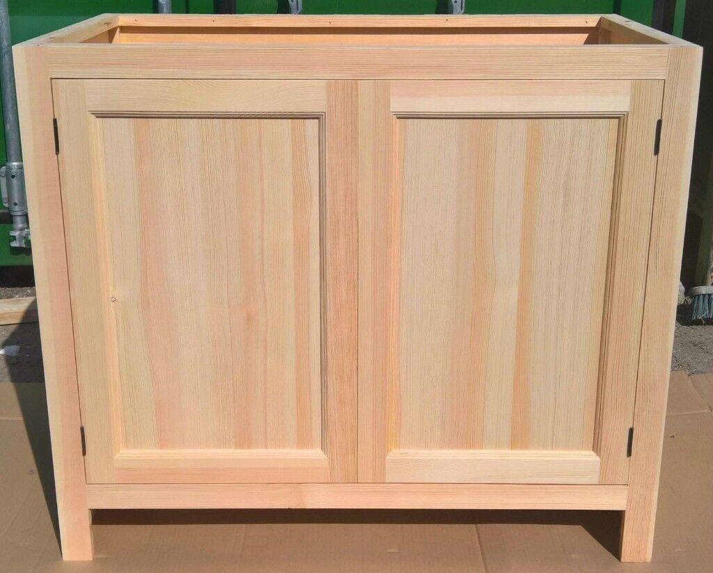 Solid Pine Kitchen Cabinet Base Unit With 2 Doors In Aylesham Kent Gumtree