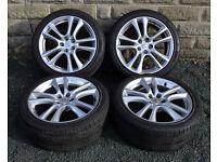"19"" Genuine Borbet alloy wheels tyres 5x114.3 Peugeot 4007 4008 Citroen C crosser"