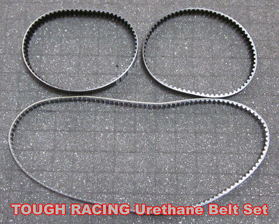 TOUGH RACING LOSI STREET WEAPON Front Side Rear Belt set LOSA3203 LOSA3206 3