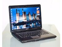 Refurbished-Toshiba Laptop-In perfect working order! 3 month Warranty