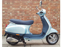 Piaggio Vespa LX 50, good condition with low mileage