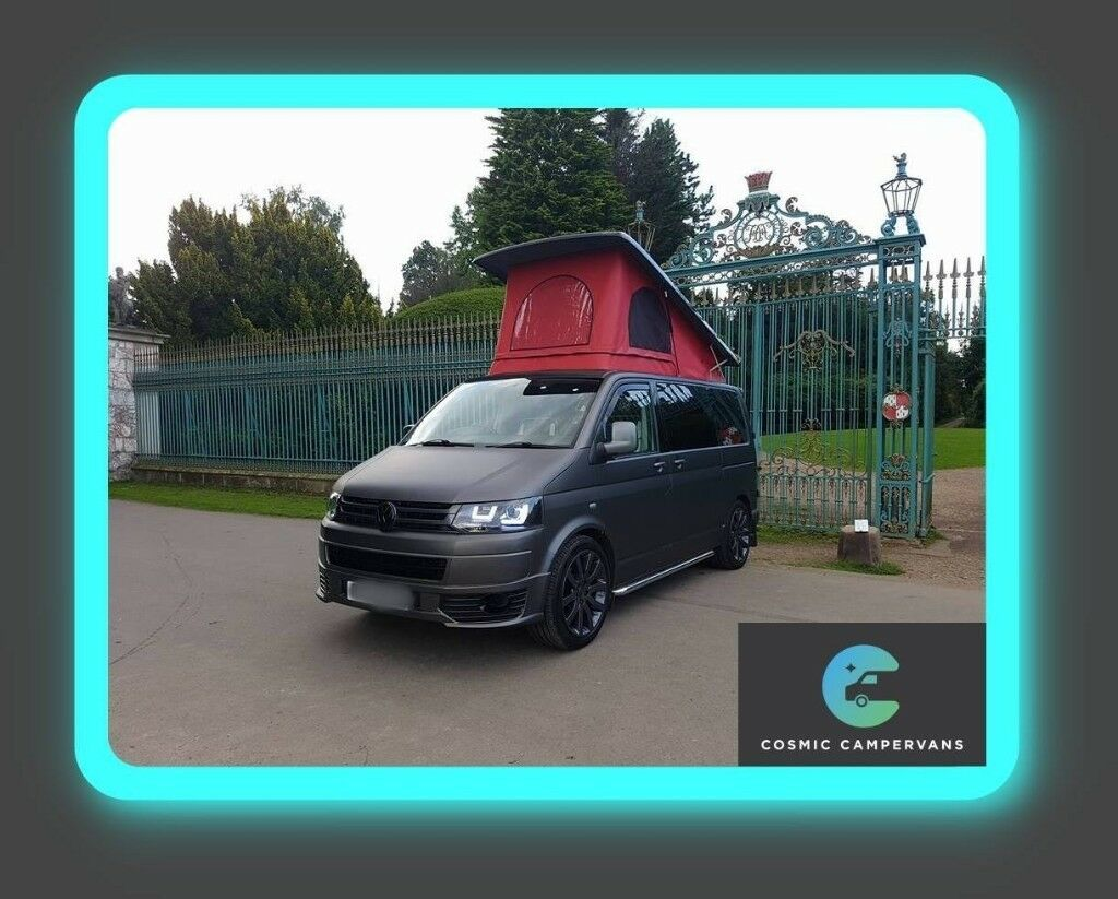 Vw T5 T6 Pop Top Roof Scenic Waterproof Canvas Free Colour