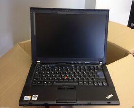 GRADE 1 Windows 7 Lenovo t400 Laptop Core 2 Duo Warranty Office Cheap FAST WIFI