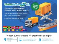 Shipping Services to the Caribbean