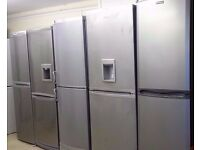 Silver Frost Free Fridge Freezers - Newfields Domestic Appliances - Gosport