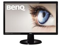 BenQ GL2450HM LED TN 24 inch Widescreen Multimedia Monitor, Glossy Black