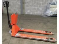 BT LHM230 Weighing Hydraulic Pallet Truck with Euroscale I323 Scales