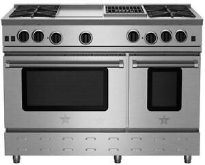 BlueStar   RNB484GCBV2 48in Gas Range    Reg $14808.948   Sale $10874.46 (416) 901 7557. http://www.aniksappliances.com/