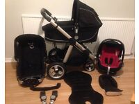 ***BARGAIN ** ICANDY Apple pushchair with Carrycot + Maxi Cosi Car Seat****