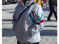 Ladies trespass ski coat and matching ski gloves ski boots size 5