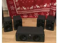 Q Acoustics Home Cinema Speaker Set for sale  Watford, Hertfordshire