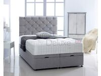 Side Lift Bed Base with HEADBOARD 4FT6 DOUBLE