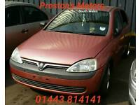 Breaking For Spares Vauxhall Corsa C 1.2i 16V GLS