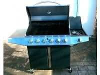 Gas Barbeque. Brand new. 6 burners. BBQ.