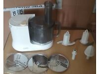 KENWOOD CHEF-FP505-8-SPEED-PULSE-FOOD-MIXER-WITH-ACCESSORIES