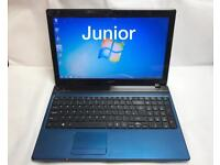 Acer i3 Fast Laptop, 4GB Ram, 320GB, Windows 7, HDMI, Microsoft office, Good Condition