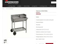 Landmann Chef grill charcoal oildrum BBQ - BRAND NEW & BOXED