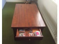 Coffee Table - 3 Years Old Solid Wood Bought From Furniture Village