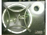 "Vibe cbr 12"" subwoofer active loud powerfull bass dynamic power mono amplifier bargain loud"