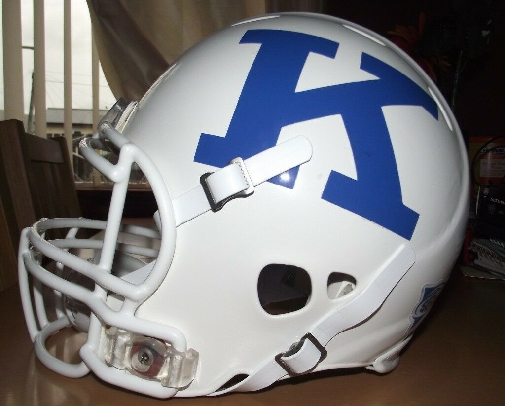 aad9a14dfd4 Full Size Riddell Revolution Kentucky Wildcats Authentic American Football  Helmet