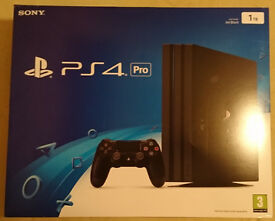Sony PS4 Pro 1TB Jet Black