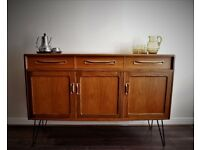 G Plan Sideboard on Hairpin legs, Vintage Mid Century Delivery possible