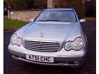 Mercedes Benz C Class 2.7 D Semi Auto Estate New MOT £600 + spent!!!!