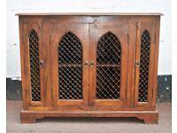 Stunning Handmade solid wood TV unit