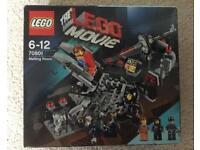 Lego Movie Melting Room Set, Emmet, Wyldstyle, Robo SWAT, BNIB, 70801