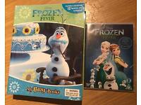 New frozen my busy books & DVD
