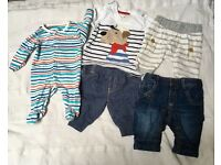 Baby boy clothes 0-1 month