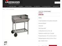 Landmann Chef grill charcoal oildrum BBQ - BRAND NEW & BOXED