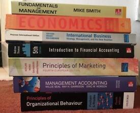 Various business/marketing/management books