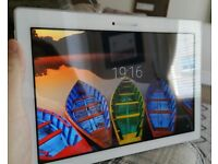 Lenovo 10.1 inch Tablet, model A10-70F, white, excellent condition, 16G storage, 2G RAM