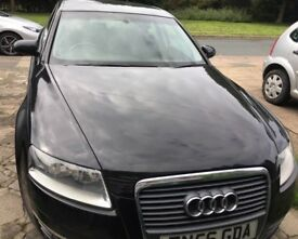 Audi A6 saloon 2.0 TDci 4 door 56 plate black