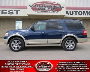 2009 Ford Expedition EDDIE BAUER 4X4, LEATHER, NAVIGATION, DVD,