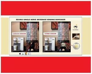 Own A Keurig Single-Serve Vending Biz - Customers Included - Practically Runs Itself!