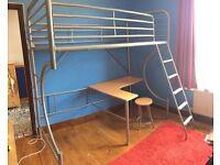 Child/teenage high level bed