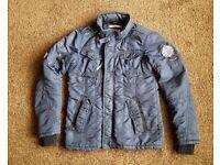 Khujo designer men jacket .Blue colour. good condition. Small size
