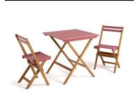 Garden furniture patio set garden table & chairs folding table & chairs