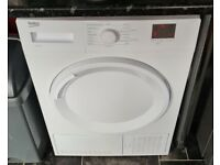 Beko 7kg Condenser Tumble Dryer in White