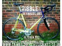 Ribble 60cm Reynolds 653 Road Bike with Shimano Ultegra 9x2