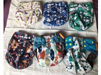 Washable baby nappies NEW