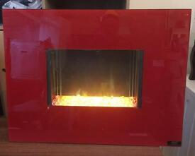 Designer BLYSS Wall hung electric Fire