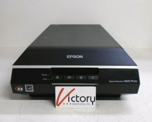 Used Epson Perfection V600 Color Photo, Image, Document Scanner | J252A | 24V