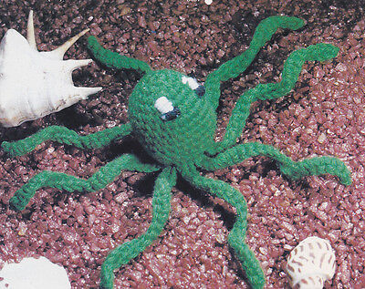Crochet Pattern ~ OZZIE OCTOPUS Stuffed Uncultivated Kids Toy ~ Instructions