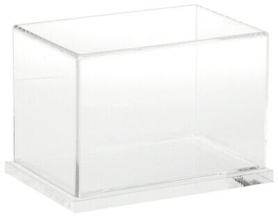 Plymor Clear Acrylic Display Case With Clear Base 6 X 4 X 4