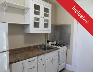 Charming One Bedroom, Inclusive, Laundry, Brock Street